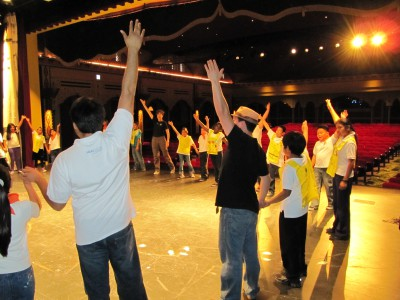 With CONTRA-TIEMPO, Students learn how to work together, as dancers and as classmates