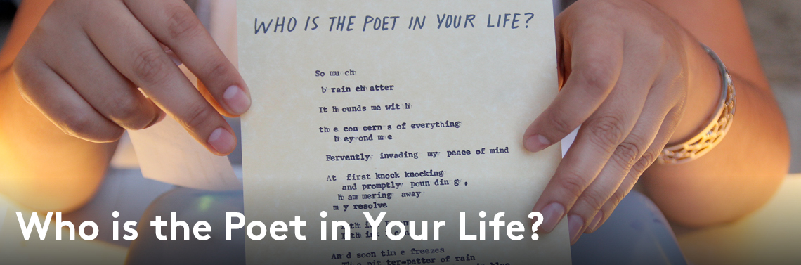 Poet in your life