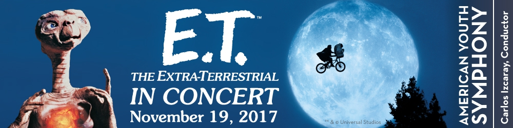 E.T. The Extra Terrestrial In Concert   4:30P