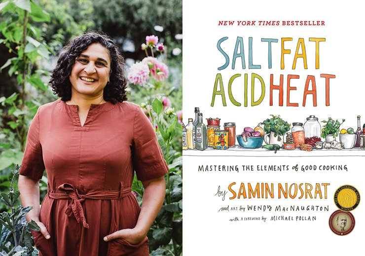 Lunch with Samin Nosrat
