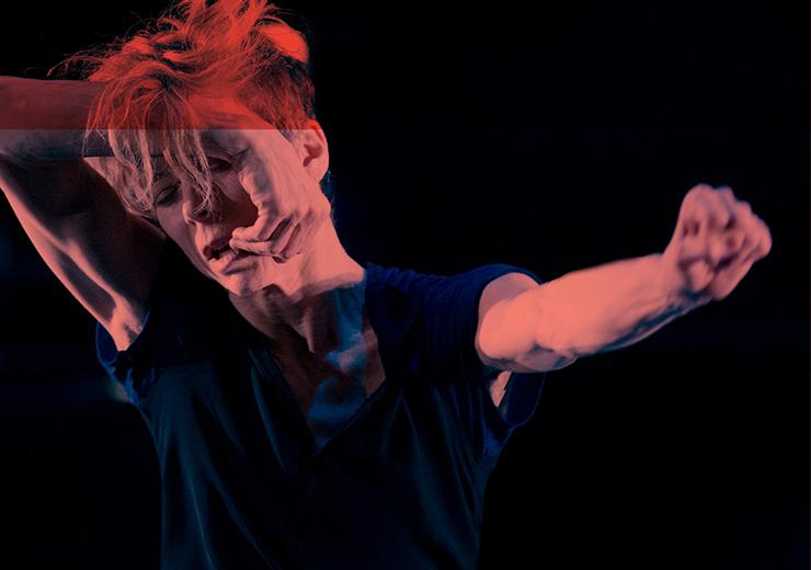 Louise Lecavalier Fou Glorieux So Blue