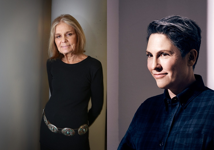 Gloria Steinem and Jill Soloway